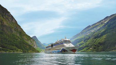 Kreuzfahrtschiff AidaBlu (Quelle: Aida Media)