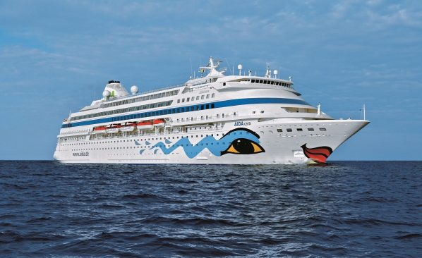 Kreuzfahrtschiff AidaCara (Quelle: Aida Media)