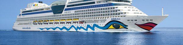 AIDAdiva Kreuzfahrtschiff