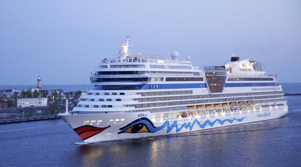 Kreuzfahrtschiff AidaSol (Quelle: Aida Media)