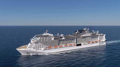 MSC Meraviglia (Quelle: MSC Cruises)
