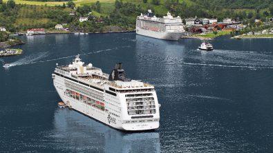 MSC Musica und Opera (Quelle: MSC Cruises)