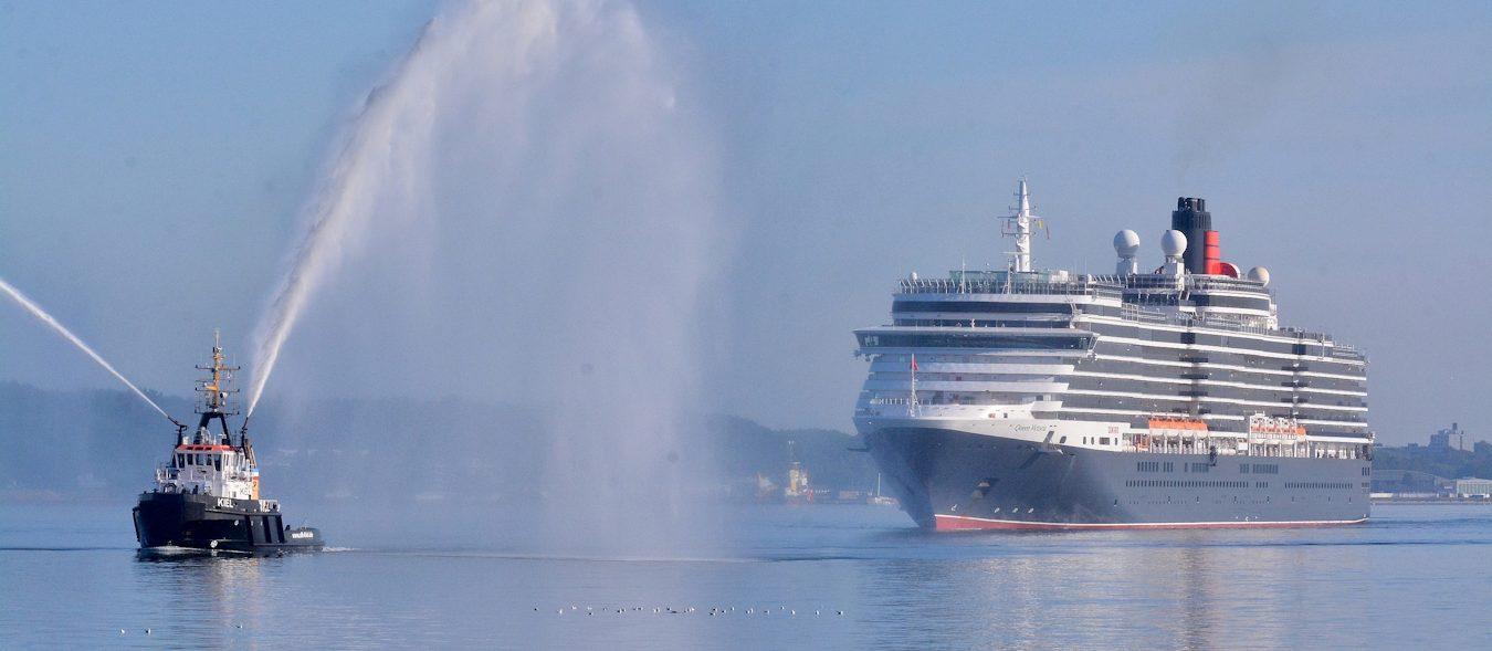 Queen Victoria in Kiel Foto Frank Behling