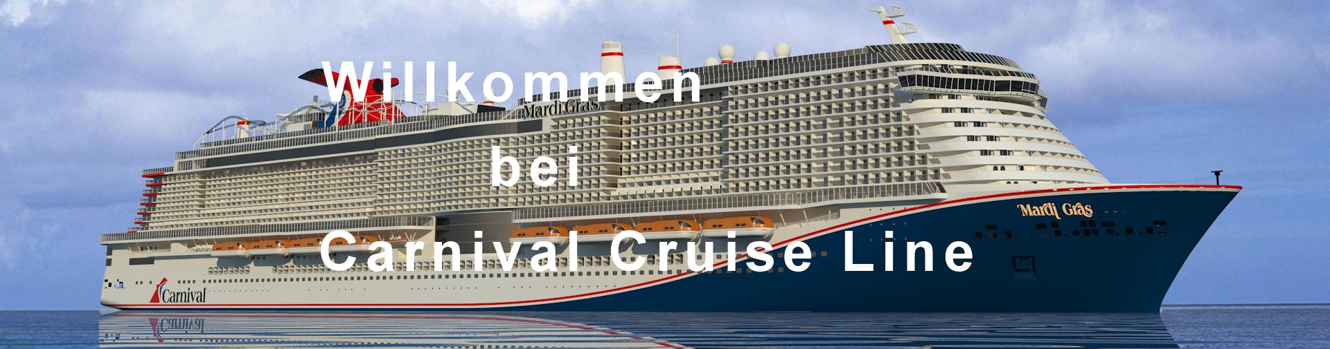 Willkommen bei Carnival Cruise Line